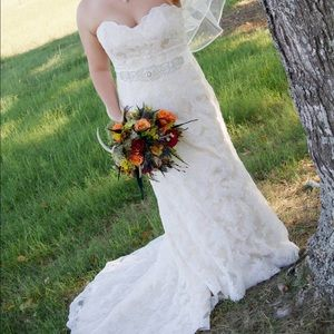 Maggie Sottero bridal gown.